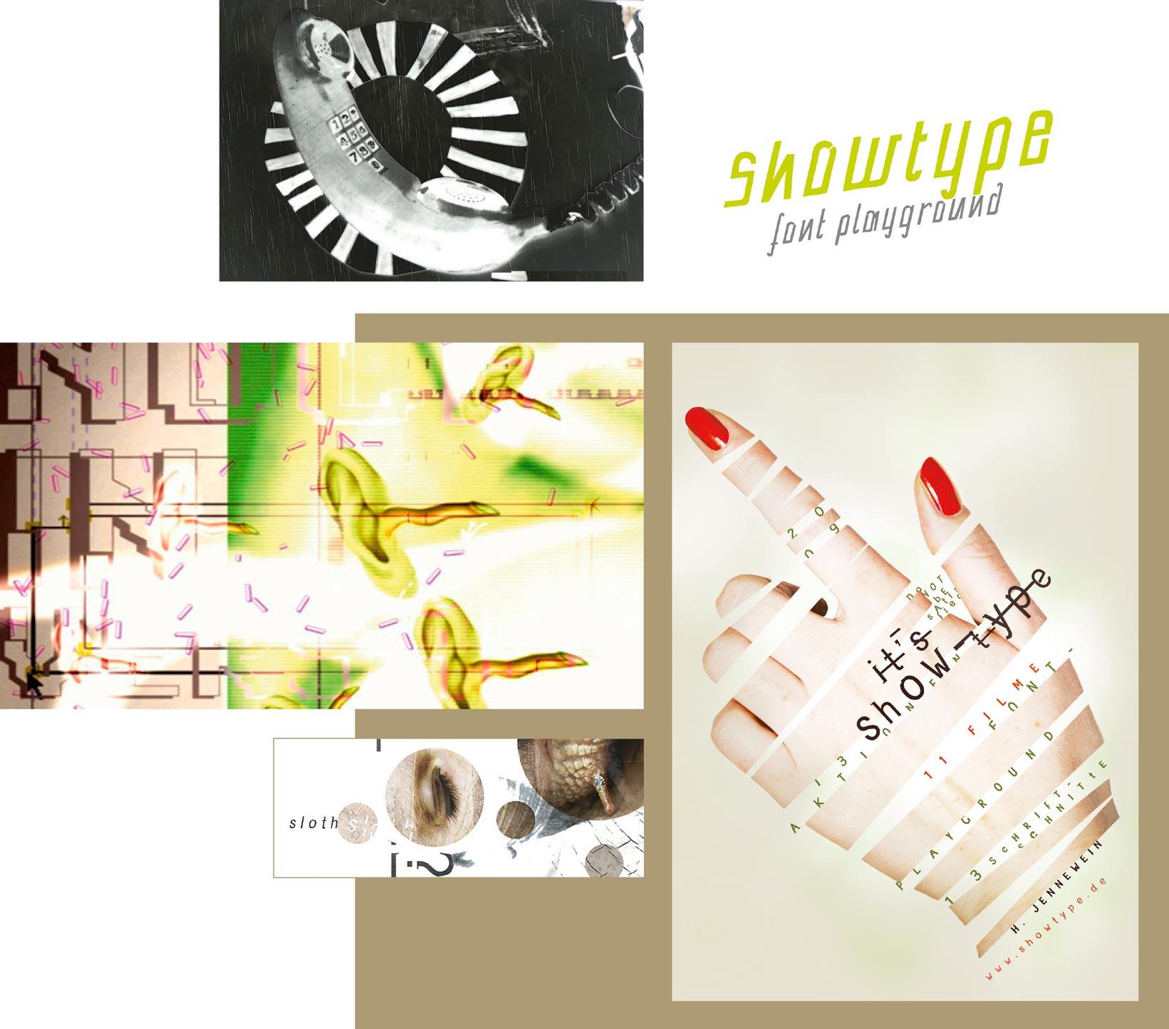 showtype, fontplayground 2009