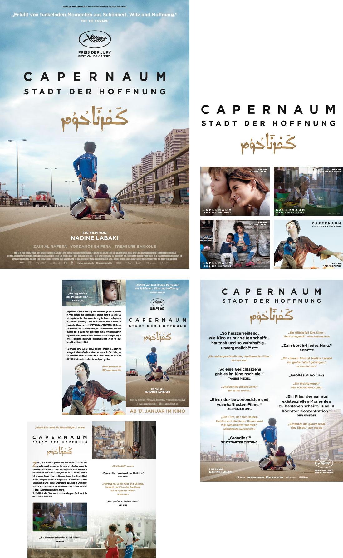 Capernaum – Stadt der Hoffnung – Kinoplakat