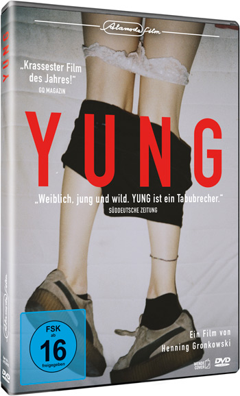 YUNG, Homeentertainment, Grafikdesign, Filmwerbung