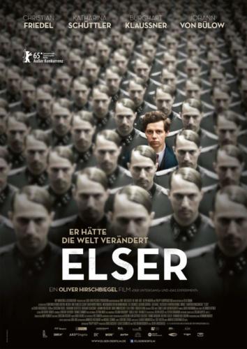 ELSER – Er hätte die Welt verändert, Plakat von Hannah Jennewein