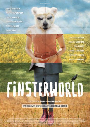 Finsterworld, Plakat und Kino-Werbematerialien von Hannah Jennewein, Alamode